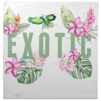 Exotic Napkin