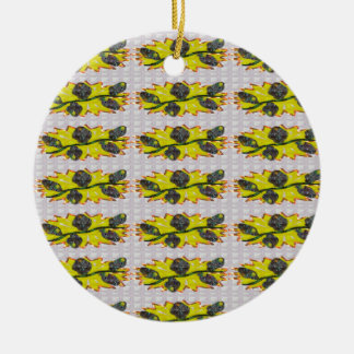EXOTIC Olive Emerald Green - Graphic Design GIFTS Christmas Ornaments