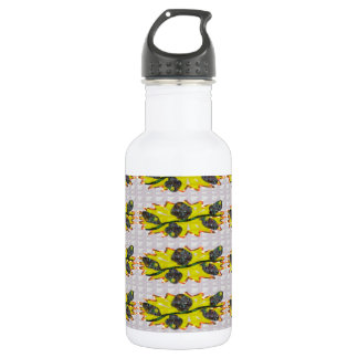 EXOTIC Olive Emerald Green - Graphic Design 18oz Water Bottle
