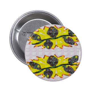 Exotic OLIVE Fruit - Pure Graphic Design FUN GIFTS 6 Cm Round Badge