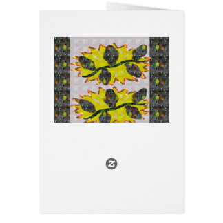Exotic OLIVE Fruit - Pure Graphic Design FUN GIFTS Greeting Card