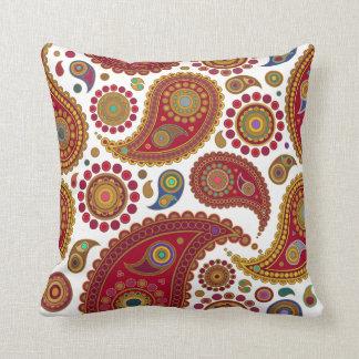 Exotic Paisley American Mojo Pillow Cushion