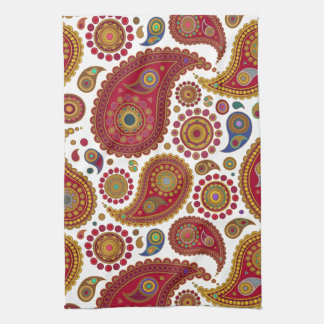 Exotic Paisley Kitchen Towel
