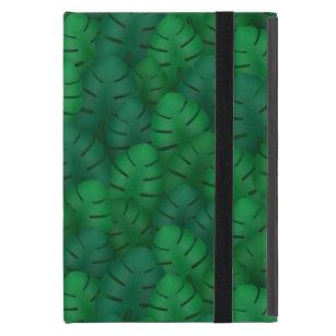 Exotic palm leaves jungle pattern case for iPad mini