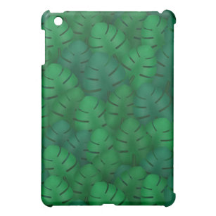 Exotic palm leaves jungle pattern case for the iPad mini