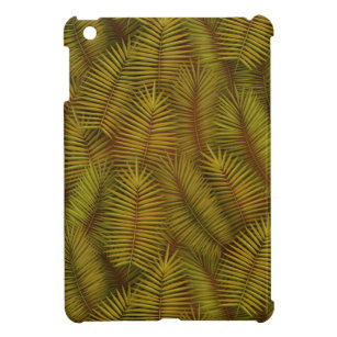 Exotic palm leaves jungle pattern cover for the iPad mini