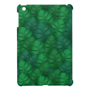 Exotic palm leaves jungle pattern iPad mini case