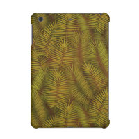 Exotic palm leaves jungle pattern