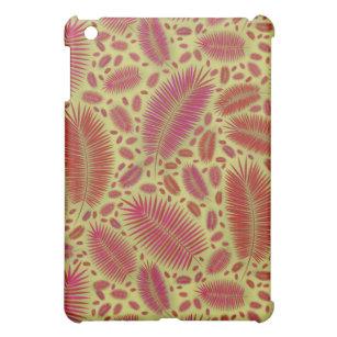 Exotic palm leaves jungle pattern iPad mini cover