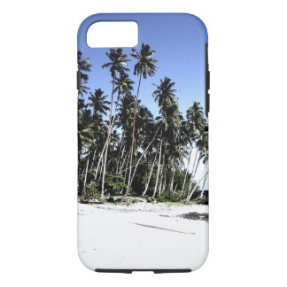 Exotic Palm Trees & Paradise Beach iPhone 7 Case