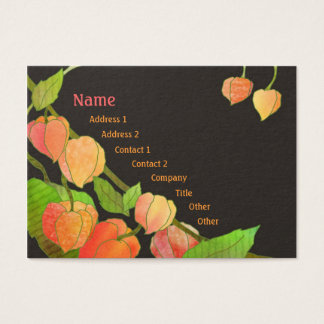 Exotic Physalis Professional Business Cards