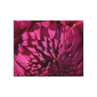 Exotic Purple Flower - Floral Decorations FUN Canvas Print
