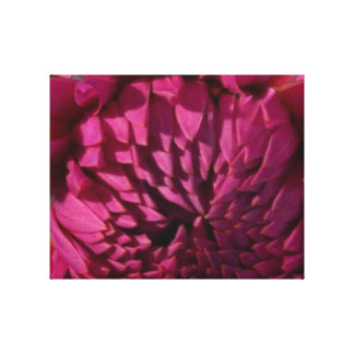 Exotic Purple Flower - Floral Decorations FUN Canvas Print
