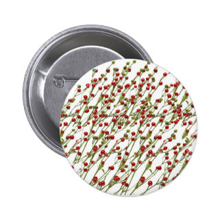Exotic Red Chillies -  Super Chef Collection 6 Cm Round Badge