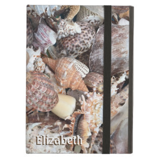 Exotic Seashell Personalized Cover For iPad Air