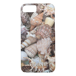 Exotic Seashells with Your Name iPhone 8/7 Case