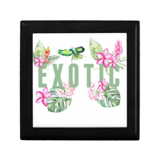 Exotic Small Square Gift Box