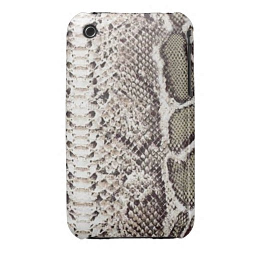 Exotic Snake Skin iPhone 3G/3GS Case-Mate 2 iPhone 3 Cover