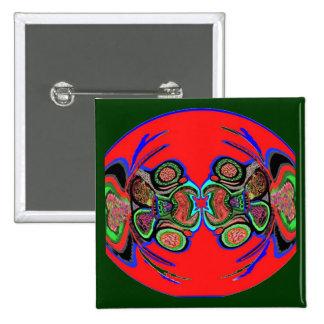 Exotic Spider Dance 15 Cm Square Badge