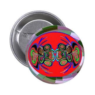 Exotic Spider Dance 6 Cm Round Badge