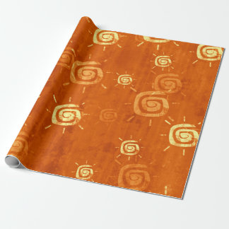 Exotic Suns Wrapping Paper