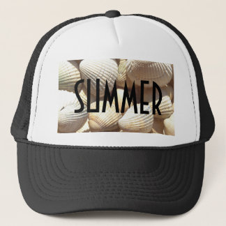 Exotic Tropical Sea Shells Summer Beach Theme Cap