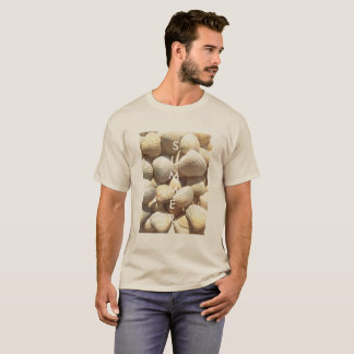 Exotic Tropical Sea Shells Summer Beach Theme T-Shirt