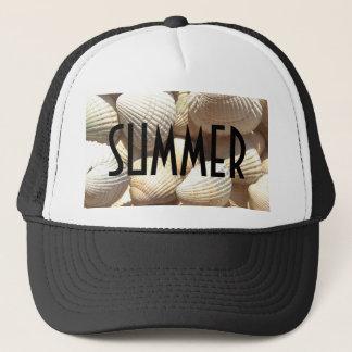 Exotic Tropical Sea Shells Summer Beach Theme Trucker Hat