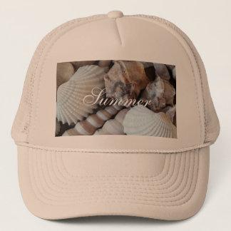 Exotic Tropical Summer Sea Shells Photography Cap
