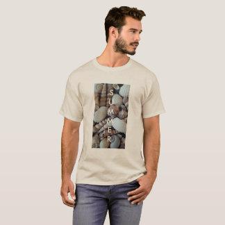 Exotic Tropical Summer Sea Shells Photography T-Shirt