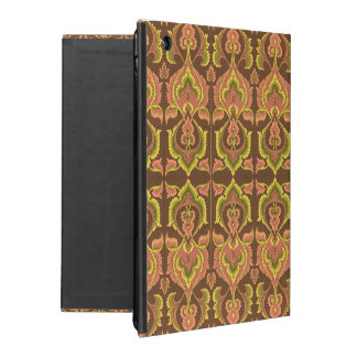Exotic Vintage Autumn Colors Brown Green Yellow iPad Case