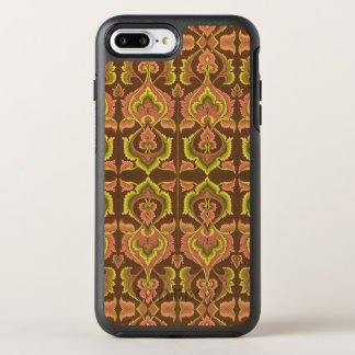 Exotic Vintage Autumn Colors Brown Green Yellow OtterBox Symmetry iPhone 7 Plus Case
