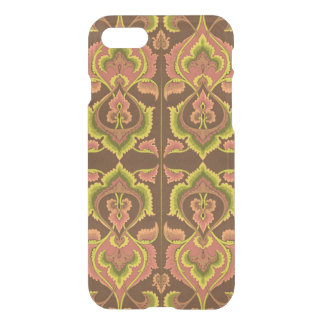 Exotic Vintage Autumn Colours Brown Green Yellow iPhone 7 Case