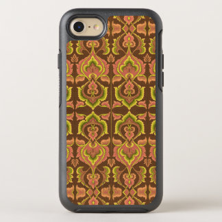 Exotic Vintage Autumn Colours Brown Green Yellow OtterBox Symmetry iPhone 7 Case