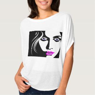 EXOTIC WOMAN FACE ART T-Shirt