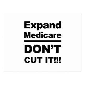 Expand Medicare-Don't Cut It Postcard