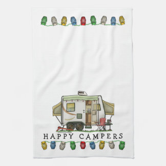Expandable Hybred Trailer Camper Hand Towels