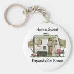 Expandable Hybred Trailer Camper Key Chain