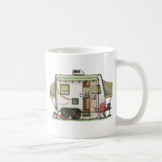 Expandable Hybred Trailer Camper Coffee Mugs