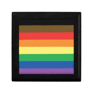 Expanded Gay Pride Rainbow Flag Customizable LGBT Gift Box