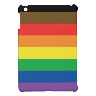 Expanded Gay Pride Rainbow Flag Customizable LGBT iPad Mini Cover