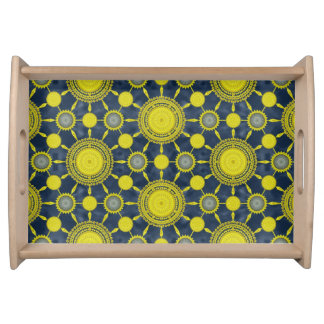 Expanded Prickly Pear Cactus Array Serving Tray
