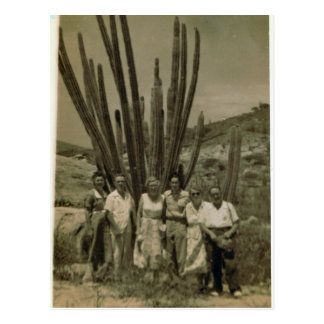 Expats working for Esso in Aruba Postcard