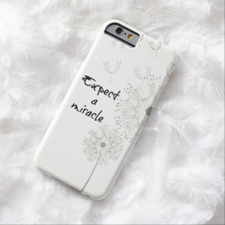 Expect a Miracle Inspirational Barely There iPhone 6 Case