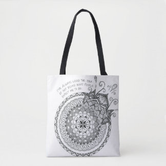 Expect Me Tote Bag