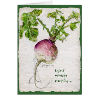 Expect Miracles Everyday... Fine Art Greeting Card