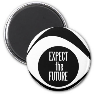 EXPECT THE FUTURE LOGO REFRIGERATOR MAGNETS