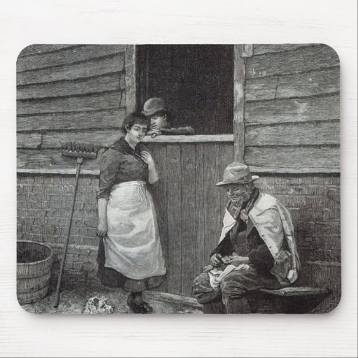 Expectancy, from 'Leisure Hour', 1888 Mousepads