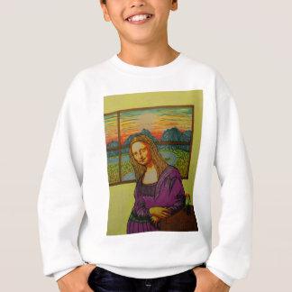 Expectant Mona Lisa Sweatshirt