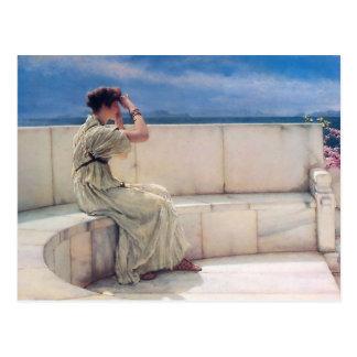 Expectations by Lawrence Alma Tadema Postcard
